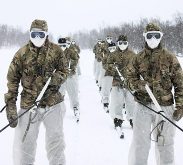 RMR conducting part 2 of their Cold Weather Warfare Course