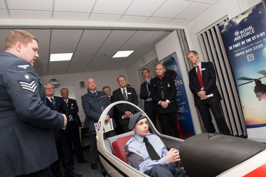 west bridgford joint cadet centre official opening