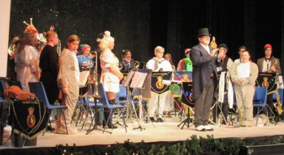 An image from last year's Cadet Christmas Band Concert