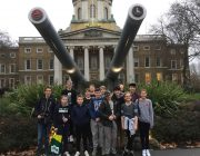 Northampton Sea Cadets at the Imperial War Museum