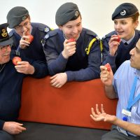 Air cadets choose healthy diets