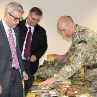 Employers learning about military life at RAF Waddington 3