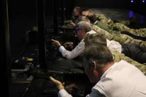 Employers learning about military life at RAF Waddington