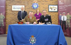 Leicestershire Police sign the Armed Forces Covenant (6)