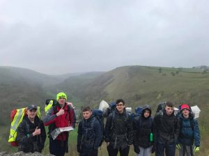 Pictured in the Peak District on a DofE Silver excursion are LCpl Jake Lawson, LCpl Korbyn Toplis, LCpl Danny Muryn, LCpl Kieran Taylor, Sgt Adam Parks and LCpl Charlie Lawson.