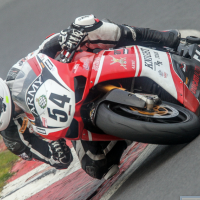 Lara Small pictured at Brands Hatch. Picture courtesy of Colin Port