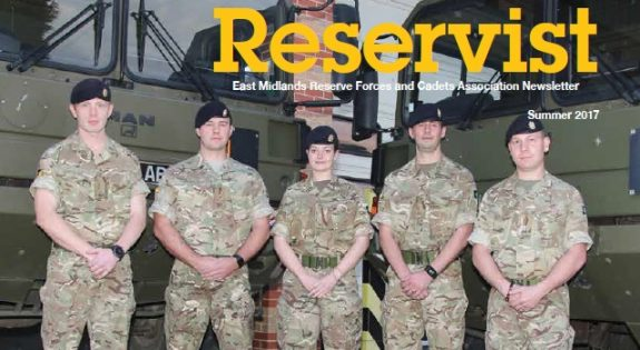 The Reservist front cover