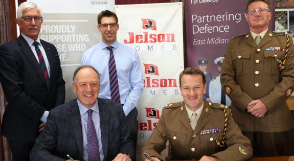Jelson Homes Ltd sign the Armed Forces Covenant group