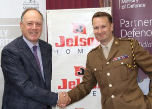 Jelson Homes Ltd sign the Armed Forces Covenant