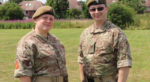Laura and Russell Gardener Derbyshire ACF