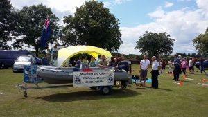 Mansfield Sea Cadets at Kirkby Carnival