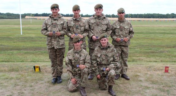 The Derbyshire Army Cadets who reached the top 100
