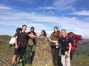 Air Cadets in the Peak District