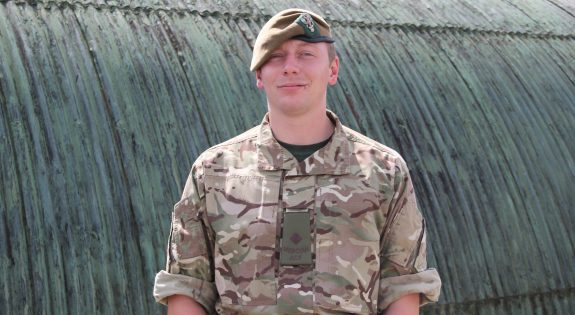 Shane Parker at Derbyshire ACF's recent summer camp
