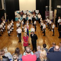 Broughton Astley Sea Cadets Enrolment Night and signing of the Armed Forces Covenant