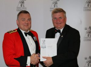 Nottinghamshire County Council were presented with an award