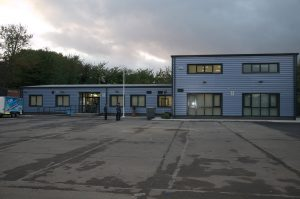 The new home of Derby RAF Air Cadets