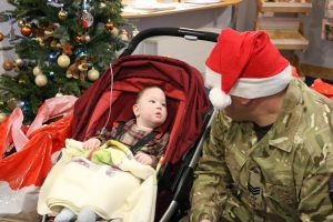 Adult volunteers from Nottinghamshire ACF delivered the gifts to hospitals around the county