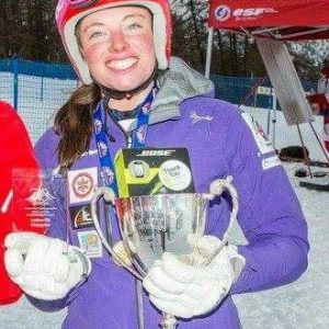 LCpl Sheona Macmillan Army Slalom Champion