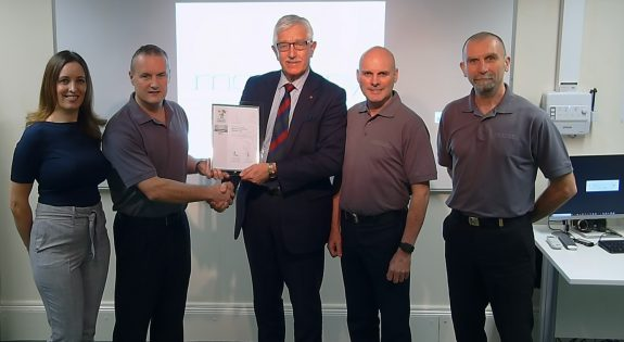 Mercury Electronic Warfare Ltd Silver Award Presentation