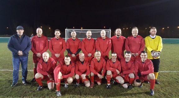 Adult volunteers team photo