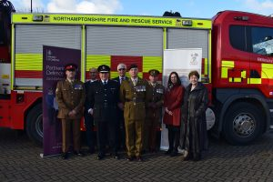 Northamptonshire Fire and Rescue Armed Forces Covenant Signing 1 Feb (12)