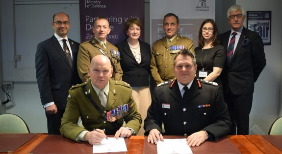 Northamptonshire Fire and Rescue Armed Forces Covenant Signing 1 Feb  (4)