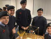Air cadets in Hinckey Cadet Erin Hoult Cadet Adam Purcell Cadet MorganCoulton Cadet Fenton Sweenie Cadet Ben Draper