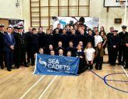 The Sea Cadet Unit with MP Alberto Costa  Photo credited to Tom Clark