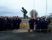 The cadets in Normandy.