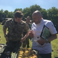Simon Rimmer with the other judges