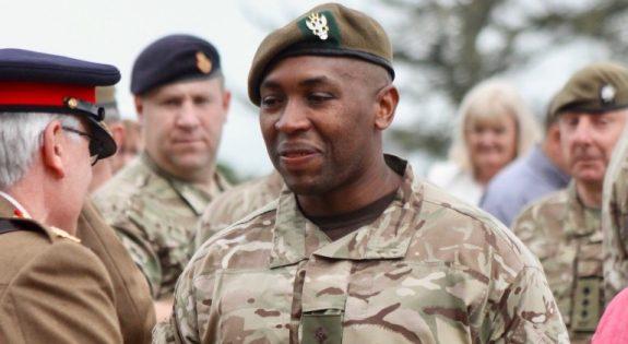 2 Lt Joseph Chivayo ACF Derbyshire ACF