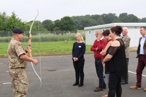 Employers got the chance to have a go at a range of activities at the event