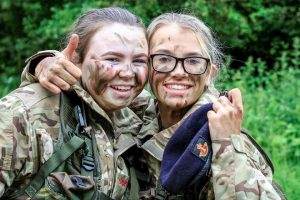 LNR Cadets during thier fieldcraft weekend