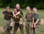 The weekend also gave cadets a chance to get to know each other