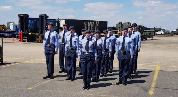 126 (City of Derby) Squadron Wing Field Day Drill Team