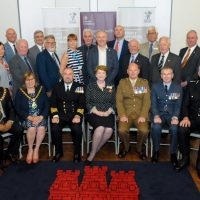 Group image of organisations that signed the Armed Forces Covenant