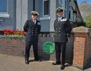 Lieutenant Commander Rod Grant and Warrant Officer Sean Jones HMS Sherwood 2