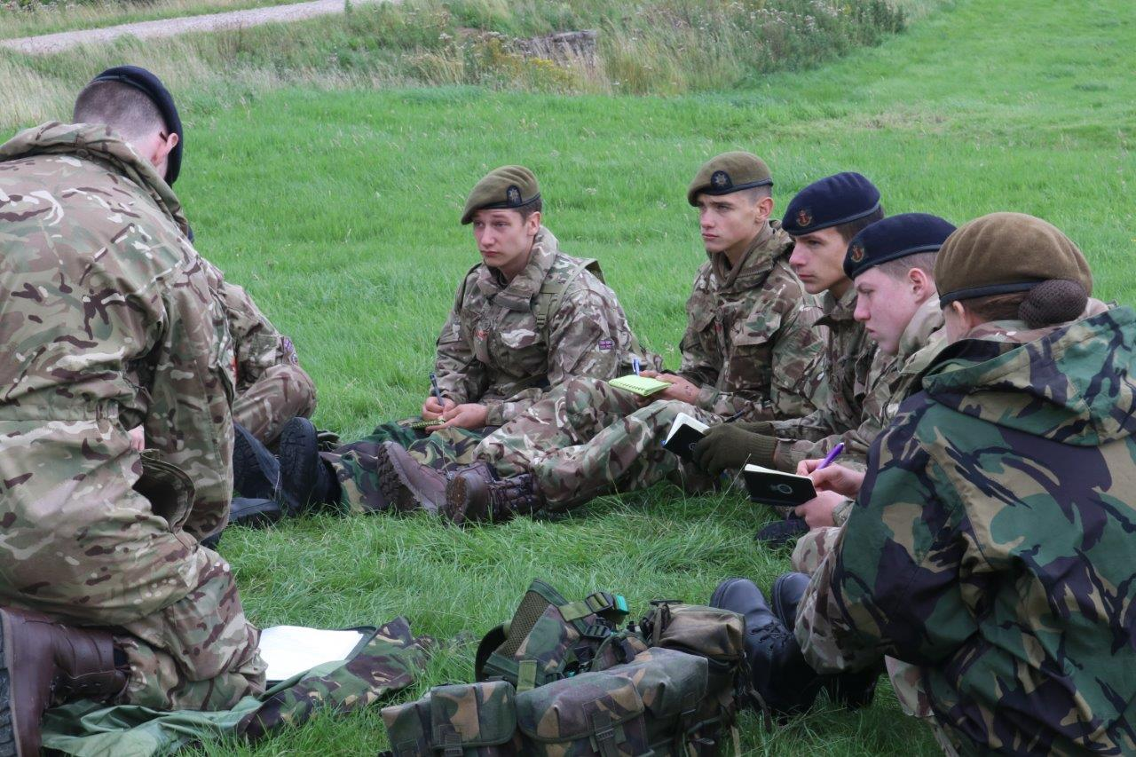 Lnr Army Cadet Force Annual Camp Visitor S Day East