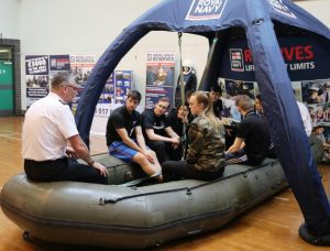 Students learn more about HMS Sherwood