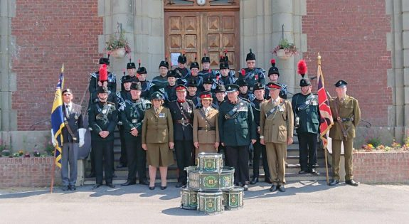 The Nottinghamshire cadets