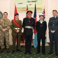The new Lord Lieutenant's Cadets for Lincolnshire