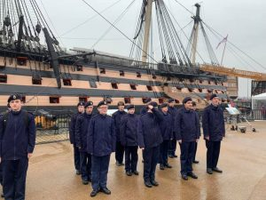 Cadets at the Historic Dockyard in Bristol