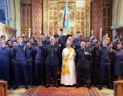 The Squadron at the Church