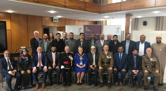 Sixteen Muslim businesses sign the Armed Forces Covenant