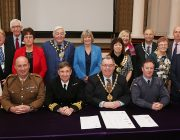 Derbyshire County Council signs the Armed Forces Covenant