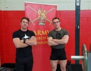 Cpl Dodsley and Cpl Clark