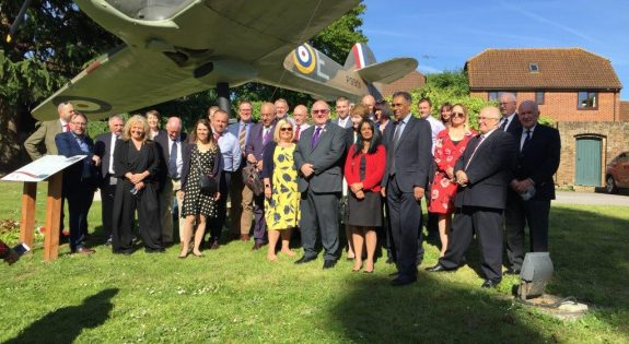 East Midlands employers at the Battle of Britain Bunker