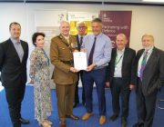 KGH Armed Forces Covenant Mark Smith Sue Newing Lt Col Speirs John Wilson Alan Burns Simon Weldon Peter Woolliscroft