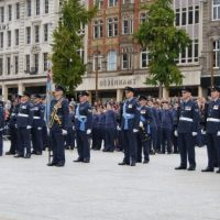 RAF Reserves in the market square